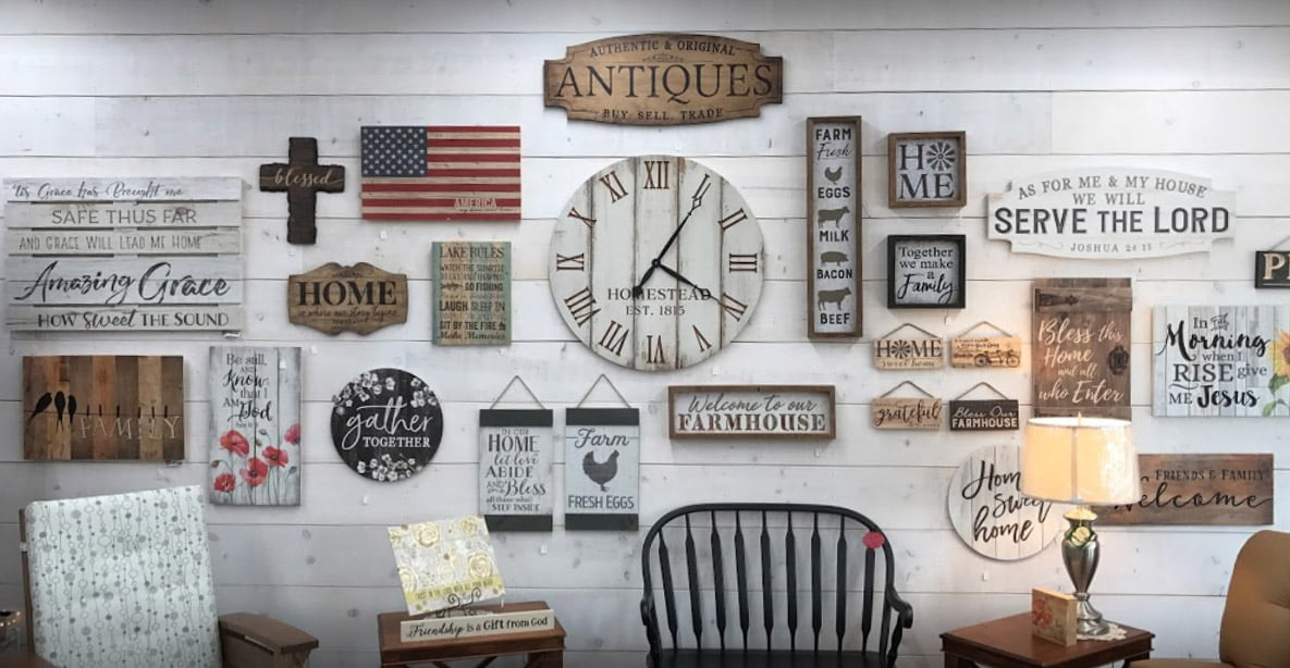 amish country heirlooms interior custom