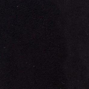 black micro fiber suede